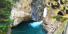 IMG_3640s (jennieyuen) Tags: nature landscape waterfall hike banff rockymountains banffnationalpark waterscape johnstoncanyon johnstoncreek