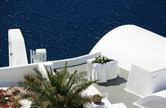 Symphony in white and blue... (klentosharry) Tags: blue white color canon hellas santorini greece cyclades canoneos5d