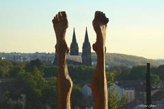 Prague symmetic (m.genca) Tags: city sunset art statue skyline foot nikon europe day czech prague praha praga chiesa czechrepublic symmetric piedi fit simmetria panoram 2016 d7000