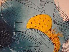 DSC09520 (scott_waterman) Tags: blue detail ink watercolor painting paper lotus gouache bluehue lotusflower scottwaterman