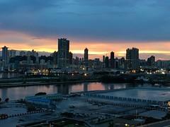 Kowloon Bay sunset (timlam18) Tags: china sunset urban hongkong asia kowloon iphone kowloonbay 6s perfectlyclear iphoneography