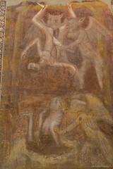 Abbazia di Pomposa, c. 800-1400 (Anita Pravits) Tags: italien italy abbey italia monastery devil benedictine fresco kloster damned emiliaromagna fresko hlle benediktiner teufel lastjudgement abbaziadipomposa abtei pomposa fresken konvent verdammte pomposia bologneserschule