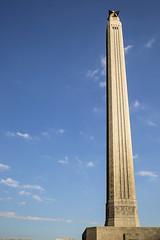 San Jacinto Monument (wyojones) Tags: texas deerpark houston sanjacintobattlefieldstatehistoricalpark sanjacintoday sanjacintobattlereenactment sanjacintomonument wpa cordovalimestone cordovashellstone architect albertcfinn engineer robertjcummins wyojones np