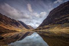 Loch Achtriochtan 2 (Visible Landscape) Tags: uk colour reflection clouds scotland highlands calm glencoe ecosse lochachtriochtan visiblelandscape