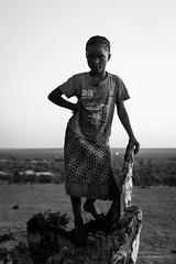 La reina de frica (victorperezagua) Tags: africa trip travel viaje portrait blackandwhite bw kids children retrato documentary nia adventure botswana zambia aventura livingstone blangoynegro