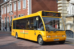 Sanders Coaches 205 MX07NTL (Will Swain) Tags: norwich 14th may 2016 bus buses transport travel uk britain vehicle vehicles county country england english south east norfolk city centre holt sanders coaches 205 mx07ntl