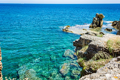 Seascape - Italy (fabioseda) Tags: ocean sea seascape sol praia beach mar ruins italia waves natureza paisagem historic puglia sul 500px santacesareaterme