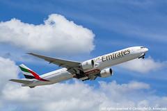A6-EBV (11) (Christoffer Andersen) Tags: oslo airplane aviation emirates ek boeing osl b777 b777300 b777300er passengerplanes osloairportgardermoen