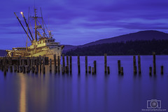 Slipping into the night (Dave Arnold Photo) Tags: travel wild sky usa cloud mountain fish hot reflection sexy industry ass water beautiful sex oregon canon naked nude landscape island photography spread boat us photo washington big high fantastic fishing dock paradise tit photographer tour northwest outdoor dusk awesome arnold pussy scenic picture peaceful pic wash photograph american maritime wharf huge wife upskirt wa 5d pugetsound serene bluehour anacortes milf idyllic 100400mm trawler cannery fishery skagitcounty mkiii fidalgoisland davearnold davearnoldphotocom