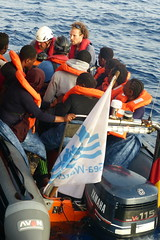 Refugees welcome on Seawatch 2