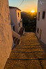 The Golden Steps (Mr Bultitude) Tags: frigiliana sunset street cobbles stone houses steps spain