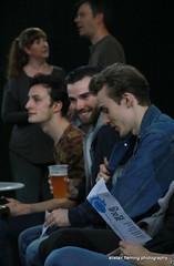 05-IMG_2776 Friends Watch This Space (marinbiker 1961) Tags: blue friends people male men beer pub indoor denim