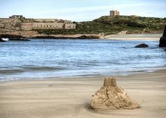 Sand Castle, Arch Bay, Alderney (neilalderney123) Tags: beach water landscape sand nazi olympus sandcastle alderney odeon omd archbay 2016neilhoward