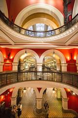 QVB Queen Victoria Building (bennychun) Tags: building opera sydney vivid victoria queen aussie qvb harbourbridge bridgeclimb