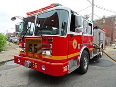 PFD Engine 55 (Aaron Mott) Tags: philadelphiafire pfd philadelphia philly phillyfire phiadelphiafire philadelphiafirefiretruck pfdfiretruck firetruckpfd firetruck fire firedepartment firedept fireapparatus kme engine