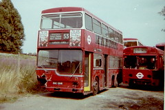 MD139 OUC138R for scrap 27.07.79 Kingston coalyard (sms88aec) Tags: md139 aeclondonbus