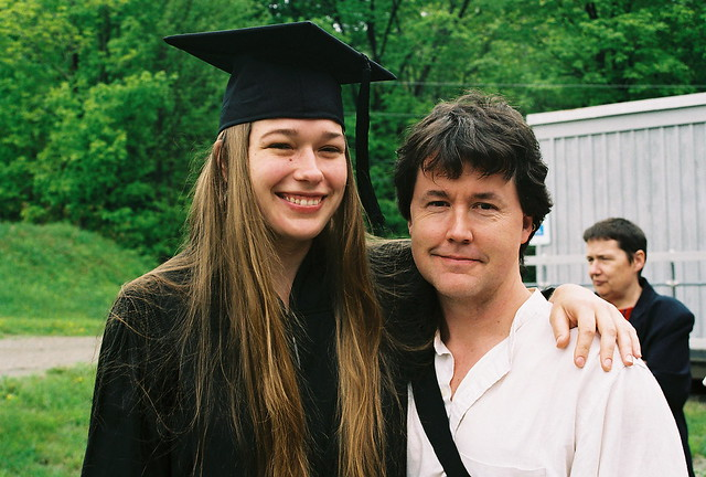 Graduate with Parent