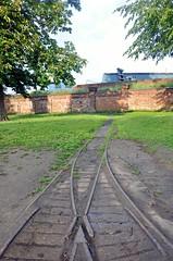 5186 (benbobjr) Tags: york uk england train river unitedkingdom yorkshire north traintracks tracks railway ouse northyorkshire narrowgauge riverouse armybarracks rnbyorkshireouse