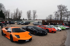 Cars & Coffee Paris by EAP 04/03/2012 (Thomas Quintin) Tags: cars coffee sv countach murcielago lamborgini jarama miura aventador lp670