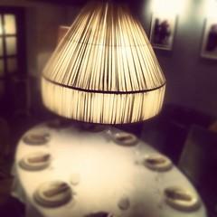 calm table (Alexey Tyudelekov) Tags: saint table cafe petersburg luster serve 2213