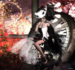 Symphony of Despair (Atteris Amarth) Tags: art fashion photography ad sl part secondlife similar myprecious redgrave slink delmay finesmithjewelry assdeluxe xivevanesce