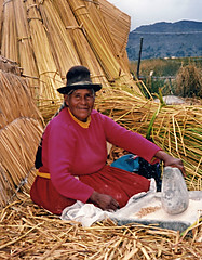 Uros (Floating Reed Islands) Peru (Globetreka) Tags: peru southamerica urosislands floatingislands traditionallady peruvianwoman traditionalworking mygearandme mygearandmepremium allfromatoz allaroundtheworld wonderfulworld checkoutmynewpics photographersfromaroundtheworld flickraward allphotographsmemories flickrunited flickraddicts worldwidetravelogue thebestvisions beautifulshot southamericancountries southamericapublicgroup magicmoments nicepictures buildyourrainbow allaboutpeoplearoundtheworld finegold beautifulcapture clikclak streetphotography giveme5 shieldofexcellence rawstreetphotography photographismemory peopleportraits peopleoftheworld screamofthephotographer flickrglobal worldtrekker unlimitedphotos theworldinflickr icatchycolors allpeople visittheworldthetravelguide flickrtravelaward 10shotstofame