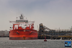 BOW CHAIN Oil Chemical tanker on Kill Van Kull (Photo Rusch) Tags: kill chain bow oil van tanker chemical kull