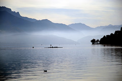 lake in annecy (Lingzhi WU) Tags: lake france annecy nature landscape lac lingzhiwu
