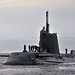 Royal Navy Submarine HMS Astute Returns to HMNB Clyde