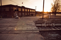 (nate.stevens) Tags: sunset bike bicycle train nikon tracks nikkor f28 1755mm d7000