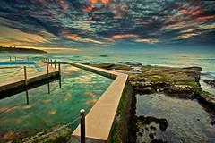 Soul Pathway (James.Breeze) Tags: sea seascape sunrise rocks waves shelf curly northernbeaches curlcurl canonef1740mmf4l southcurlcurl jamesbreeze magicalskiesmick