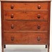 122. Antique Graduated Chest of Drawers