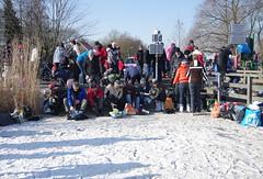 Rottemeren (Wy@rt) Tags: snow ice netherlands rotterdam iceskating sneeuw skating nederland paysbas skates sneeuwpret 2012 niederlande ijs schaatsen snowfun zuidholland bleiswijk tourtocht rottemeren schaatstocht rottemerenmolentocht