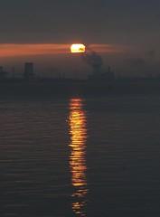 Sunrise 21st March 2012 (mark_fr) Tags: york sunset sky sun set sunrise volcano view market yorkshire hill estuary vale east dust rise volcanic mere beverley humber hornsea weighton molescroft