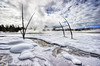Planet Somewhere (James Neeley) Tags: winter landscape yellowstonenationalpark yellowstone wyoming hdr f12 5xp jamesneeley flickr24