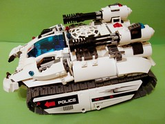 Scimitar Tank (Kukus_) Tags: 3 tank power lego space iii police system destroyer technic lp functions kosmos pf destroy scimitar policja kukus kmfl qqs lugpol