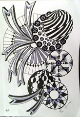 Zentangle #1f 2-1-12 (terry_lynn_12) Tags: art zentangle zentangleart zendoodle zentangleinspiredart