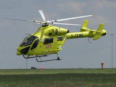 Yorkshire Air Ambulance  G CEMS (Gary Chatterton) Tags: rescue airport air yorkshire leeds ambulance bbc helicopters heros yaa lba leedsbradford gcems