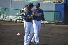 DSC_0670 (mechiko) Tags: 横浜ベイスターズ 120212 渡辺直人 横浜denaベイスターズ 2012春季キャンプ サラサー