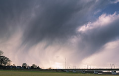 Hail Shower (Pim Valk) Tags: weather hail deventer hagel hailstorm weer deworp hagelbui