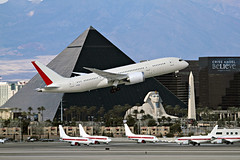 """""""Boeing Two Thirty Six Experimental Heavy"""" - McCarran Int'l Airport, NV  USA"""