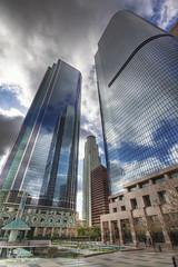 Like a Skyscraper (photoacumen) Tags: architecture buildings losangeles hdr photomatix pse9