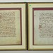 Antique Illuminated Music Sheets