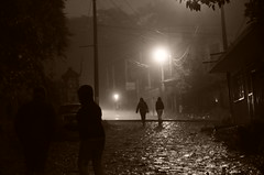 Streets of Cuetzalan (Eniola Itohan) Tags: street light mexico cuetzalan flickraward