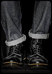 Black Carey DM's (CWhatPhotos) Tags: pictures camera original light shadow england black macro classic love feet me yellow canon that lens photography boot foot eos photo mine long exposure foto shadows with hole boots photos lace dr air smooth picture 8 wear have doctor footwear fotos 7d stitching fixed z usm 60mm comfort doc cushion marten which soles dm efs f28 docs laces contain dcs carey drmartens bouncing airwair welt martens dms laced focal 1460 cushioned wair 1460s airwear yellowstitching