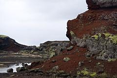 Rauðhólar (helga 105) Tags: red colour water iceland vatn beutiful litir rauður fallegt helga105