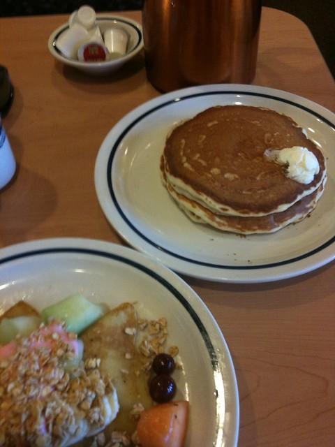 Day 59 - 2/28/12: IHOP Free Pancakes