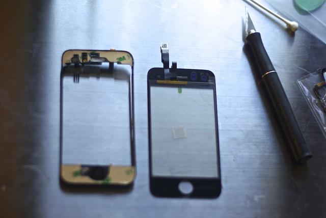 broken fix diy screen repair shattered cracked iphone