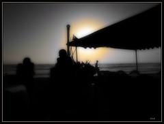 Haus Chandra: Night Sun (Tim Noonan) Tags: family bw sun man art beach yellow night tim indianocean vivid manipulation imagination canopy mosca colombo hypothetical digi vividimagination artdigital shockofthenew trolled sotn newreality sharingart awardtree magiktroll exoticimage digitalartscene netartii digitalartscenepro