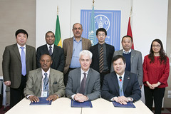 12023h9803 (FAO News) Tags: china italy rome europe ethiopia agreements signingceremony southsouthcooperationssc technicalcooperationprogrammetcp assistantdirectorgeneraladg